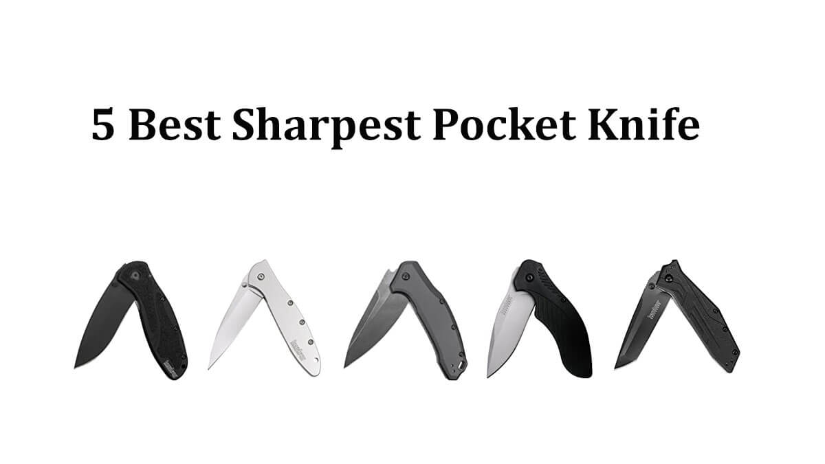 5 Best Sharpest Pocket Knife For Our Daily Life