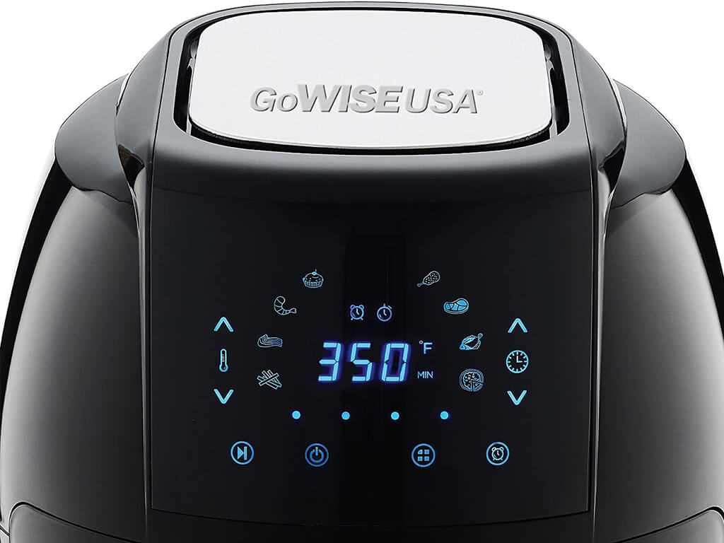 GoWISE-USA-5.8-Quarts-Air-Fryer-control-panel
